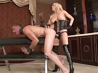 Hard wazoo penetration with hot mistress