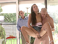 Sissy spouse Watches His Wife Fuck