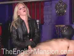 Poor hubby likes trampling from wife