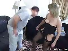Wild skanks love to suck big dicks and love fresh cum at face