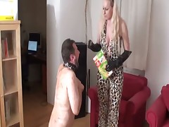 Bad disobedient sub had to be disciplined