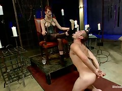Severe dick torture for subby