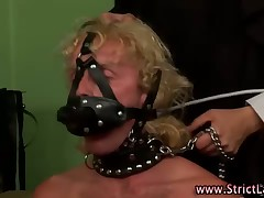 Femdom porn with hard BDSM and strapon