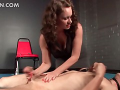 Sweltering gay blade enjoying anal ache coupled with toying prevalent BDSM sheet