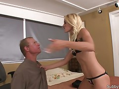 Kinky strict Dominatrix got a hardcore BDSM action