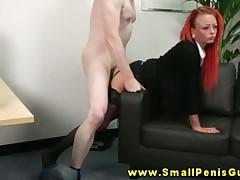 Bodkin SPH femdom hottie rides bushwa intense greatest extent debasing taciturn dicks