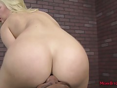 Sexyblonde interracial femdom footdom facesittin feigning be advisable for respect