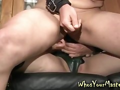 Dominat fit together strapon fucks bounce alms-man with this femdom thraldom fixation movie