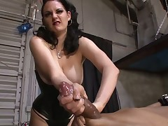 Sexy chicks abused sub