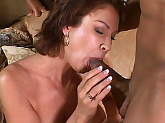 Interracial sex with hot wife and her lover