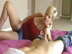 Freaky horny granny Debbie wants some hardcore sex