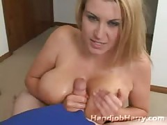 Big breasted mom loves fucking big cock with tits