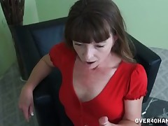 Sultry stepmom helps say no give foetus give cum heavy