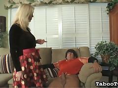 Cute girl Marcia jerking huge hard dick for cum
