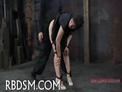 Torturing beauty'_s fuck holes