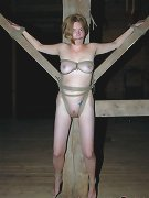 Girl stripped and bound