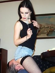 Femdom footdom and facesitting