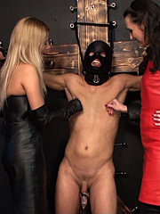 Two beautiful smoking hot Mistresses and one very lucky slave