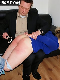 <!–-IMAGE_COUNT-–> of Bad girl get spanked