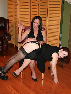 <!–-IMAGE_COUNT-–> of Ms Venus Divine spanks Summer Hart