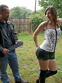 <!–-IMAGE_COUNT-–> of Leather Shorts