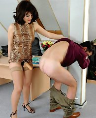 F/M ass destruction in office