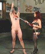 CBT on a male slave