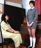 Bad teen girl spanked otk