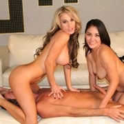 Two hot mistress in facesitting action