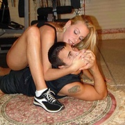 Nicole Sheridan subjects her trainer to a brutally arduous smothering punishment