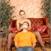 Good trampling and facesitting