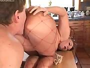 A hottie getting her sweet ass worshipped