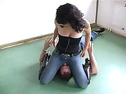 Jeans Sitting-sue