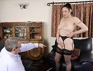 Mature was caned