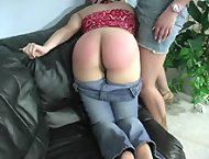 Chicks otk spanked