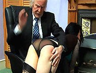 Secretary hard spanked