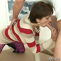 Cfnm footjob, irrumation and tugjob