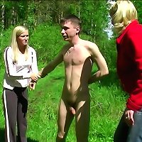naughty Cfnm games outdoors