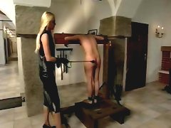 She`s whipping him into shape
