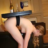She as table for wine
