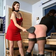 Babe spanked otk