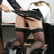 Spanking of two women