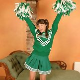 Cheerleader teen spanked and caned