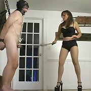 Cheyenne Loves Ball Whipping