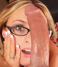Paige Adams Provides A Sterling Handjob