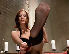 Pov humiliation by mistress` feet