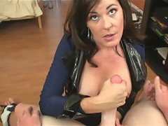 Bella Roxxx Handjob from over40handjobs