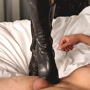 The redhead mistress trampled malesub