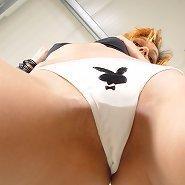 Playboy girl smthered malesub