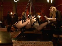 A lavish brunch followed by a play party featuring local BDSM players.
